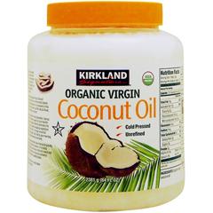 [ 大容量2.3kg ] カークランド オーガニック バージン ココナッツオイル(MCTオイル含有)