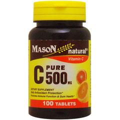●ビタミンC ピュアアスコルビン酸 500mg