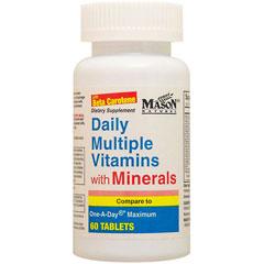 デイリー マルチプル ビタミンズ ウィズ ミネラルズ(鉄含有マルチビタミン&ミネラル)