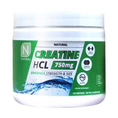 クレアチンHCL 750mg 97.5g Creatine HCL Natural NutraKey(ニュートラキー)
