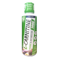 Lカルニチン リキッド 3000 パッションベリー味 液体カルニチン 473ml Liquid L-CARNITINE 3000 PassionBerry NutraKey(ニュートラキー)