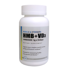 【賞味期限2021年7月】HMB+VD3(ビタミンD3) 3000mg 【HMBD5000】186粒 プラスチックボトルタイプ Health Doctor U.S (ヘルスドクターユーエス)