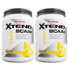 【2個セット】[大容量約1.2kg]エクステンド(BCAA+Lグルタミン+シトルリン)※パイナップル