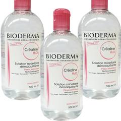 【3個セット】ビオデルマ(BIODERMA) クレアリヌ(サンシビオ) H2O 500ml