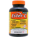 ●[ お得サイズ ] エスターCパウダー +バイオフラボノイド(おなかにやさしい高吸収型ビタミンC)