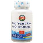 紅麹米(ベニコウジ)&コエンザイムQ10 + オメガ3 EPA/DHA