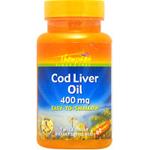 コッドリバーオイル(タラ肝油) 400mg