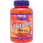 Lグルタミン 1000mg アミノ酸配合 120粒 L-Glutamine NOW(ナウ)
