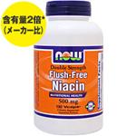 [ お得サイズ ] ダブルストレングス フラッシュフリー ナイアシン(ビタミンB3)500mg
