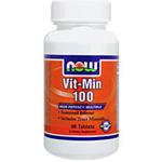 ☆≪販売終了≫Vit-Min ビタミン&ミネラル 100(B群高含有/タイムリリース型)