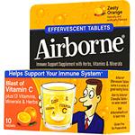 エアボーン 発泡性タブレット(ビタミンC、エキナセア配合) ※オレンジ