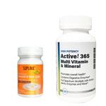 Active!365 マルチビタミン&ミネラル(1個)& ナノQ10ミニジェル(1個)