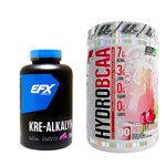 ハイドロBCAA(EAA配合)※ピンクレモネード(1個)& クレアルカリン EFX(高純度クレアチン)(1個)