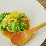 ☆白菜と塩麹豚のミルフィーユ蒸し
