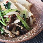 ☆小松菜と厚揚げの甘辛炒め