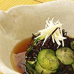 ☆ひじきときゅうりの酢の物