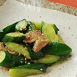 ☆きゅうりと豚肉の塩麹炒め