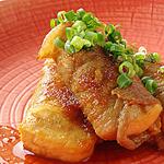 ☆肉巻き豆腐のしょうが焼き