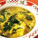 ☆にら玉塩麹スープ