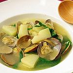 ☆あさりとじゃがいものガーリックスープ
