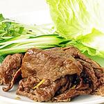☆牛肉の甘辛レタス巻き