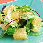 ☆セロリとグレープフルーツのスパイシーサラダ