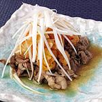 ☆牛肉のキムチおろしソース