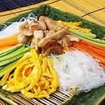 ☆生野菜の中華風春雨サラダ