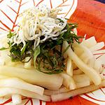 ☆しらすと大根のサラダ