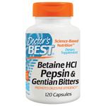 ベタインHCl + ペプシン&ゲンチアナ(酵素ブレンド)