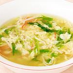 ☆かにかまと水菜の卵スープ