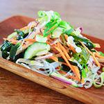 ☆わかめとはるさめの彩り野菜サラダ