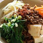 ☆豆腐でビビンバ