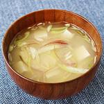 ☆みょうがと豆腐の味噌汁