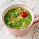 ☆レタスとたまごのスープ