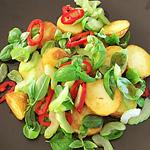 ☆グリルドポテトとセロリのサラダ