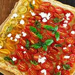 ☆プチトマトのタルト