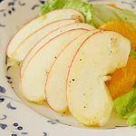 ☆りんごとオレンジのサラダ