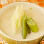 ☆とろとろ長ねぎのミルクスープ