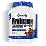 マイオフュージョン アドバンスト プロテイン ※ミルクチョコレート 1.81kg (約48杯分) MyoFusion Advanced Protein 4 lb.  Milk Chocolate Gaspari Nutrition