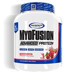 マイオフュージョン アドバンスト プロテイン ※ストロベリー&クリーム 1.81kg (約48杯分) MyoFusion Advanced Protein 4 lb. Strawberries & Cream Gaspari Nutrition