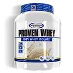 プル—ブン ホエイ(加水分解ホエイアイソレート) プロテイン バニラ  1.81kg (約60杯分) Proven Whey 4lb 100% Hydrolized Whey Protein Isolate Artificial Vanilla Gaspari Nutrition