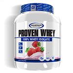 プル—ブン ホエイ(加水分解ホエイアイソレート) プロテイン ストロベリー 1.81kg(約60杯分)Proven Whey Strawberry 4lb 100% Hydrolized Whey Protein Isolate