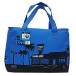 ☆トレーダージョーズ 保冷エコバッグ(クーラーバッグ) ブルー&ブラック