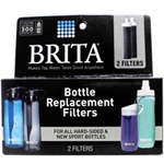 Brita ブリタ浄水フィルター(携帯ボトル用カートリッジ/2個セット)