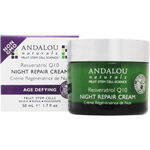 アンダローナチュラルズ レスベラトロールQ10ナイトリペアクリーム  (乾燥肌・超乾燥肌/保湿クリーム)