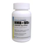 HMB+VD3(ビタミンD3) 3000mg 【HMBD5000】186粒 プラスチックボトルタイプ Health Doctor U.S (ヘルスドクターユーエス)