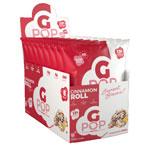 Gポップ プロテインポップコーン シナモンロール味 57g 8袋入 Gpop Cinnamon Roll 2oz 8 ENJOYGPOP/NutraKey (エンジョイジーポップ/ニュートラキー)