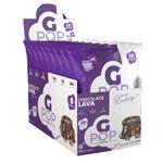 Gポップ プロテインポップコーン チョコレートラヴァ味 57g 8袋入 Gpop Chocolate Lava 2oz 8 ENJOYGPOP/NutraKey (エンジョイジーポップ/ニュートラキー)