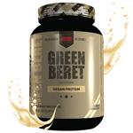 グリーンベレー( 植物性/ プラント プロテイン / ヴィーガンプロテイン ) バニラ 1032g GREEN BERET 2lb 30 servings artificial vanilla Redcon1